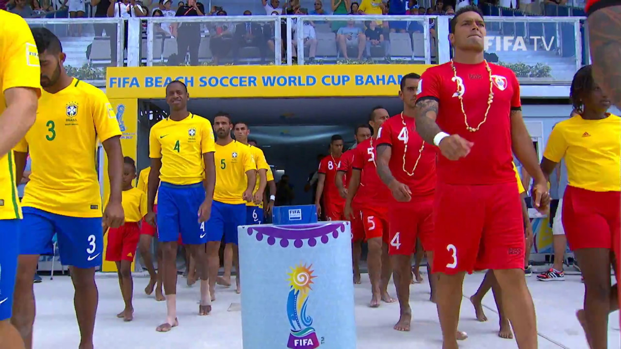 Match  Brazil V Tahiti Fifa Beach Soccer World Cup