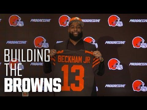 Odell Beckham Jr. arrives in Cleveland   Building The Browns