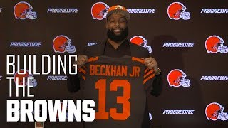 Odell Beckham Jr. arrives in Cleveland | Building The Browns
