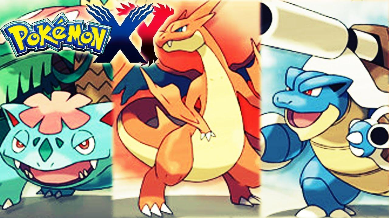 Pokemon X Und Y Mega Glurak Mega Turtok Mega Bisaflor Neues Pokemon Poke Bank