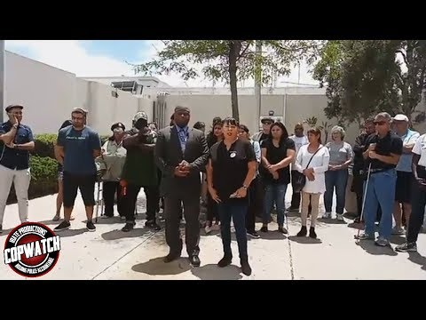 Community Activists Demand SD Sheriffs Deputies Be Fired for Assault on Father & Son
