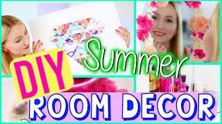 DIY SUMMER ROOM DECOR - Pinterest Inspired