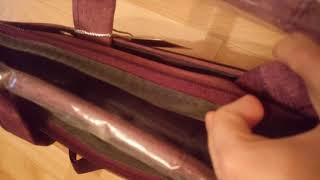 Обзор сумки для ноутбука