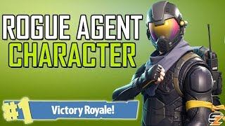 ROGUE AGENT VICTORY ROYALE! - Fortnite Battle Royale New Character Skin