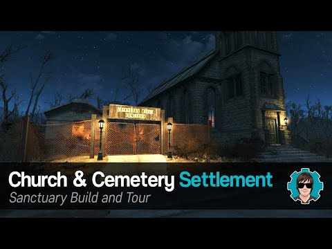 Fallout 4 - Church and Cemetery Settlement