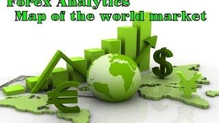 Forex Analytics - Map of the world market