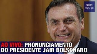 AO VIVO: PRESIDENTE BOLSONARO CAUSA IMPACTO EM PRONUNCIAMENTO PARA CHEFES DE ESTADO NA ARGENTINA