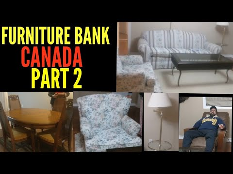 Furniture Bank Canada|| Showing You Our Furniture - Part 2|| Free Furniture In Canada