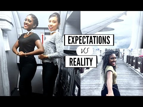FLIGHT ATTENDANT EXPECTATION vs REALITY | JANET NIMUNDELE