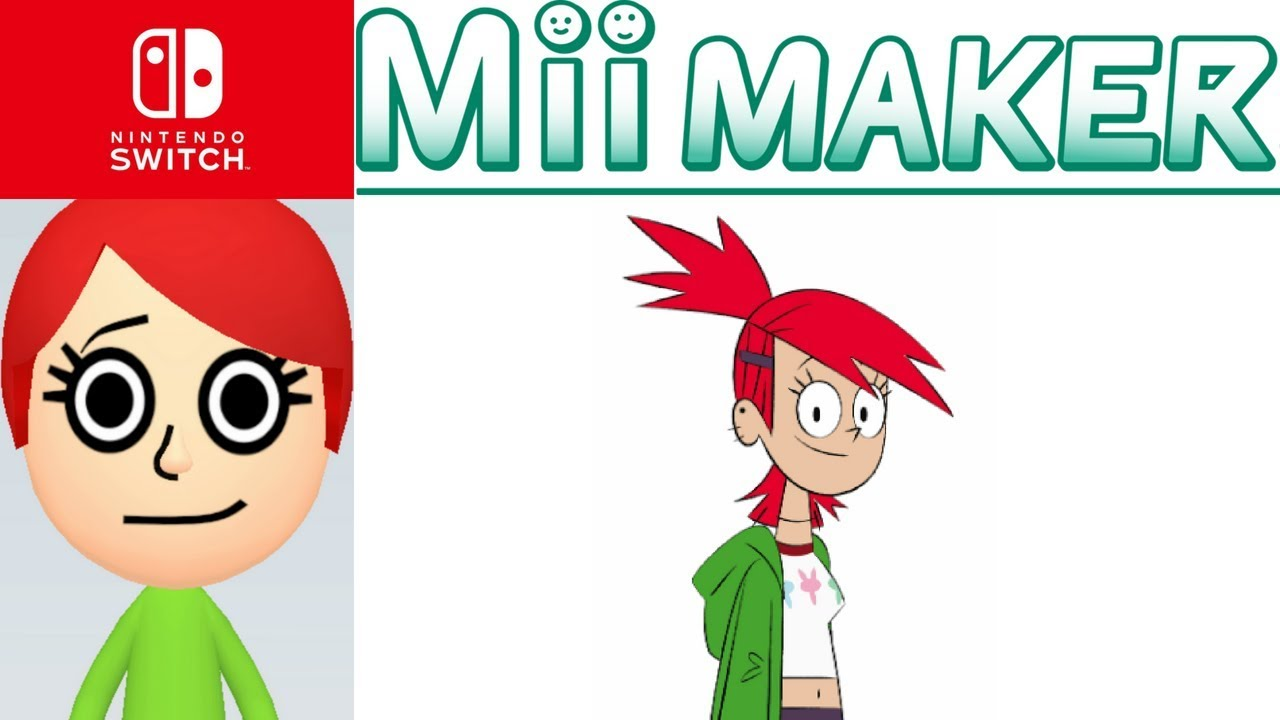 Mii Maker How To Create Frankie Foster From Foster Home For Imaginary Friends