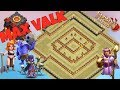 Best Th10 War Base 2017 Anti Valkyrie Anti Bowler Anti 2 Star With Replays PROOF!