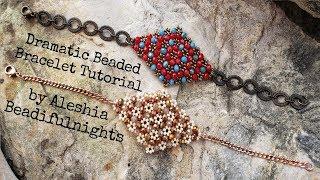 Dramatic Beaded Bracelet Tutorial