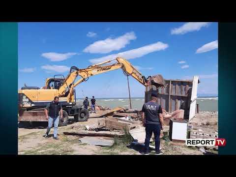 Report TV -IKMT Prish Barakat E Peshkatarëve Në Erzen, Mbretërojnë Mbetjet