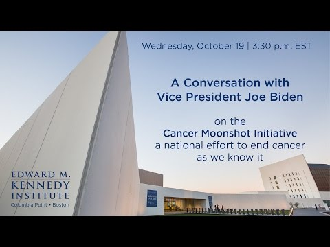 A Conversation with Vice President Joe Biden on the Cancer Moonshot Initiative