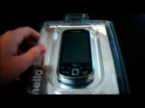 Samsung Intercept Unboxing