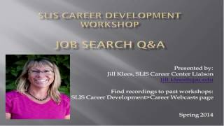 Job Search Q&A