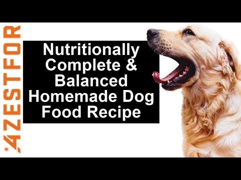 DIY Dog Food - Grain Free Homemade Dog Food - Simple Healthy
