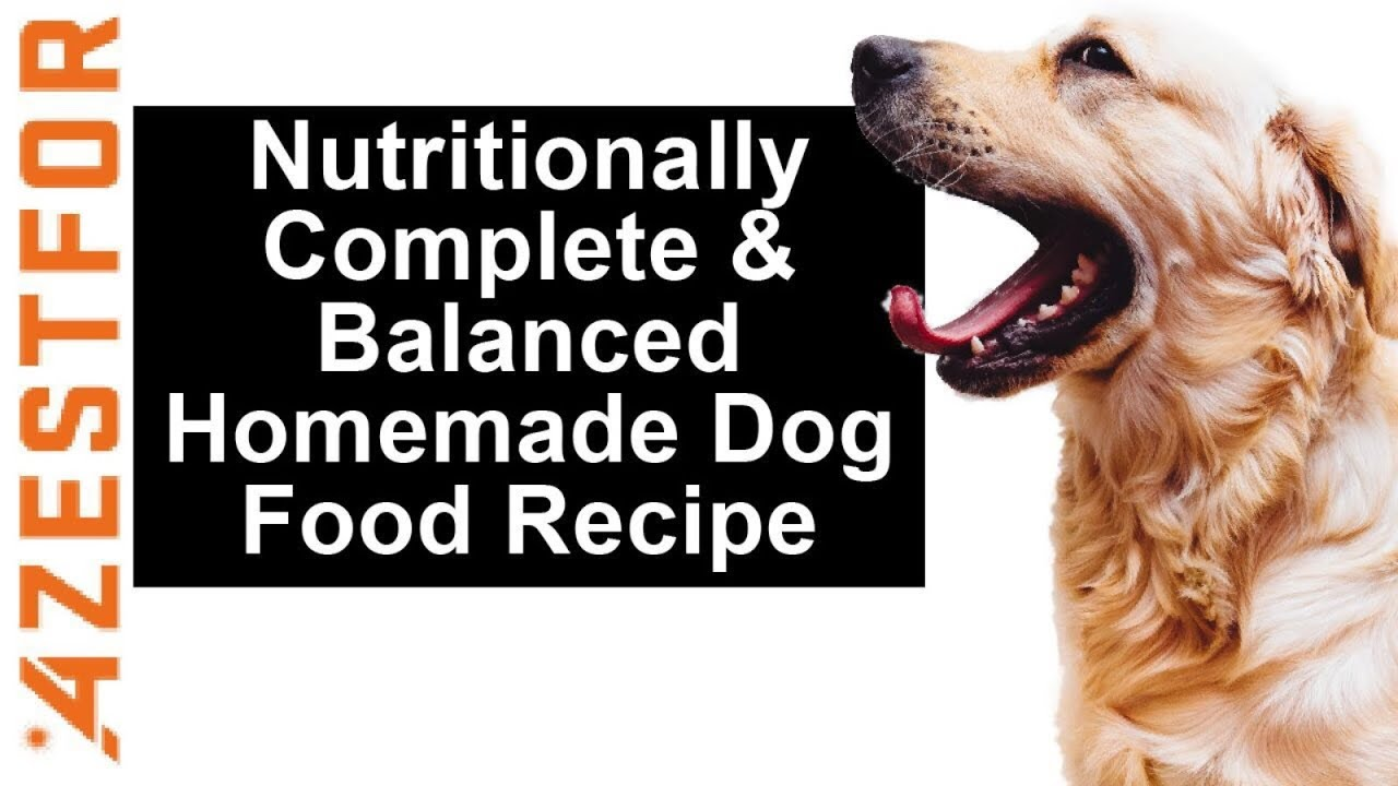 Diy Dog Food Grain Free