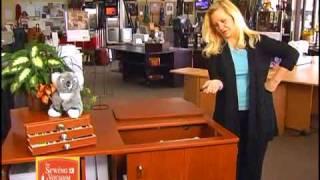 Koala Sewing Cabinet Demo