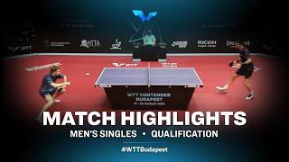 Gergo Kramarics vs Vladimir Sidorenko | WTT Contender Budapest 2021 (Qual)