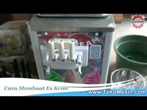 Cara Membuat Es Krim Untuk Usaha / Bisnis Es Krim