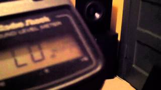Custom Powered Subwoofer - SPL Measurement - 15Hz to 25Hz Bass Frequencies (2)