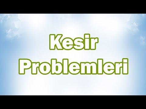 KESİR PROBLEMLERİ-2 (Parçadan Bütüne)   5. Sınıf Matematik
