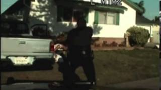 Horrific dashcam video shows cop fatally shooting man ELEVEN times outside his home