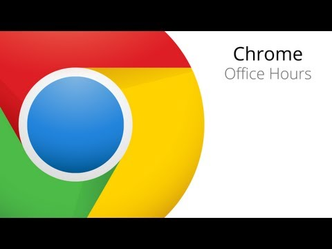 Chrome Apps Office Hours - the WebView Control