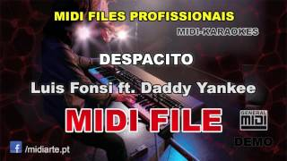 ♬ Midi file  - DESPACITO - Luis Fonsi ft. Daddy Yankee