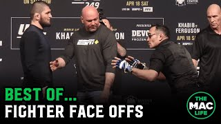 Best of Fighter Face Offs (ft. Masvidal, Khabib, Tyson Fury & more) | TheMacLife Archives