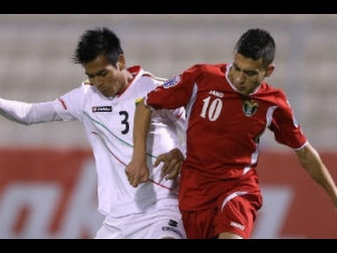 Jordan vs Myanmar: AFC U22 Championship 2014 - YouTube