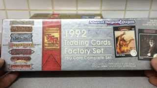 1992 Trading Cards Factory Set: 750 Card Complete Set (Advanced Dungeons & Dragons)