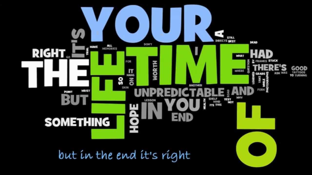 Good Riddance (Time of your li...