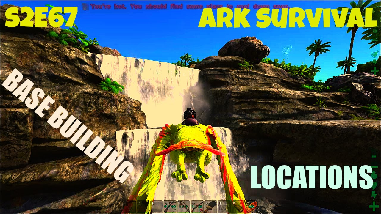 how to get the center and ragnarok on ark
