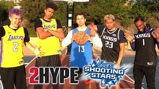 2Hype NBA Shooting Stars Basketball Challenge!