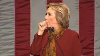 Why Does Hillary Clinton Keep Having Coughing Fits?