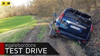 Toyota Land Cruiser | Sì, siamo finiti nel fosso...