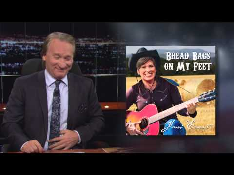 Real Time with Bill Maher: Joni Ernst: Bread Bags on My Feet (HBO)