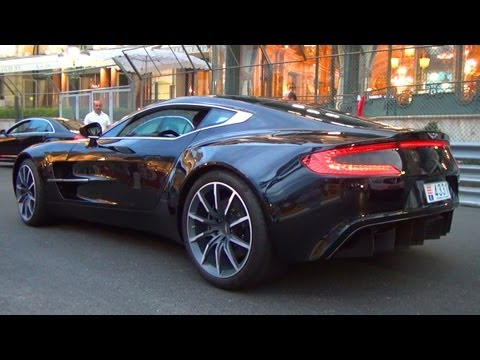 Aston Martin ONE 77 - REVVING V12 Exhaust Sound 7,3l  - 760 HP PS - One-77 Coupe Exotic Supercar