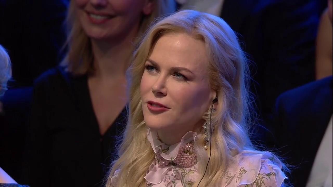 Laudatio Steven Gätjen Beste Schauspielerin International