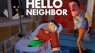 Minecraft: Hello Neighbor - Neighbor KILLS STEVE!!