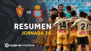 Resumen de Real Zaragoza vs RCD Espanyol (0-0)