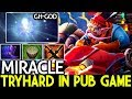 Miracle- [Gyrocopter] ft IO by GH Tryhard in Pub Game 7.21 Dota 2