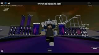 Jeff Hardy Wrestlemania 33 Entrance ROBLOX