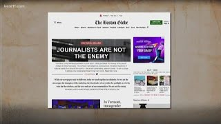 Newspapers fight back against Trump
