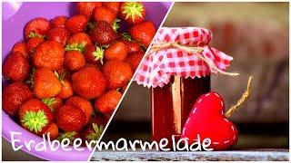 Erdbeermarmelade zum Muttertag /DIY/einfach, schnell, lecker