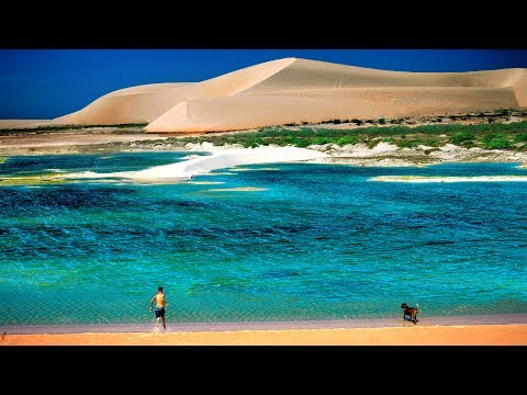 Jericoacoara, Brazil with an ordinary car and on foot. Independent travel guide.