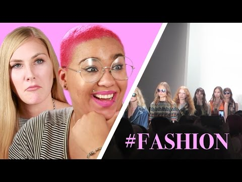 Thumbnail: Regular People Go To Fashion Shows For The First Time