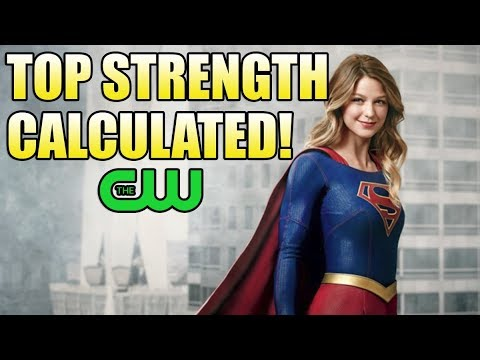 How Strong is the CW Supergirl?